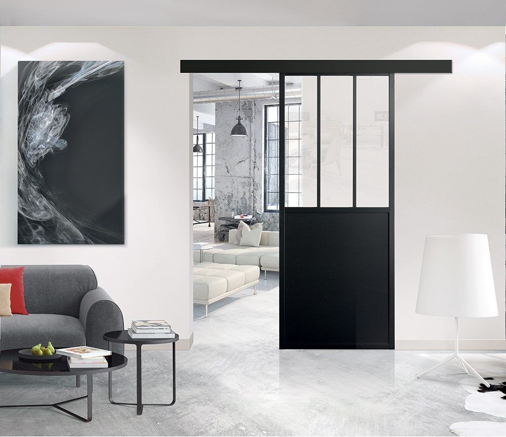 Porte intérieure Coulissante modèle Atelier