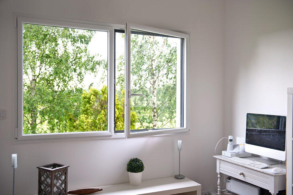 Passion Menuiserie : Fenêtre ALU Bi-coloration