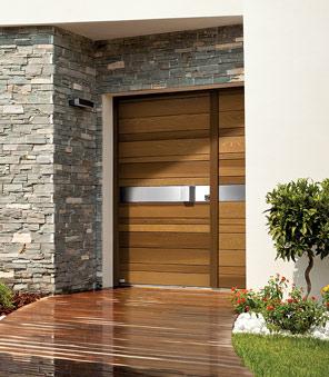 Porte d'entrée bois - Passion Menuiserie